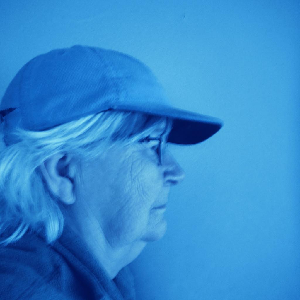 Blue Profile by spanishliz