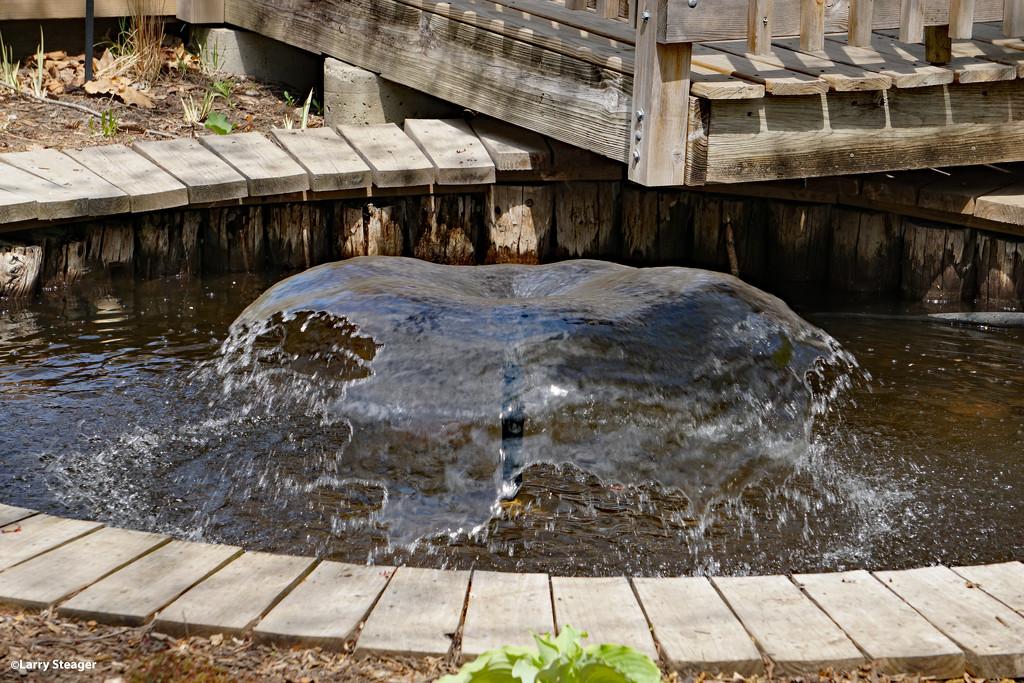 Water exibit by larrysphotos