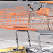 Just An Orange Shopping Cart! :-)