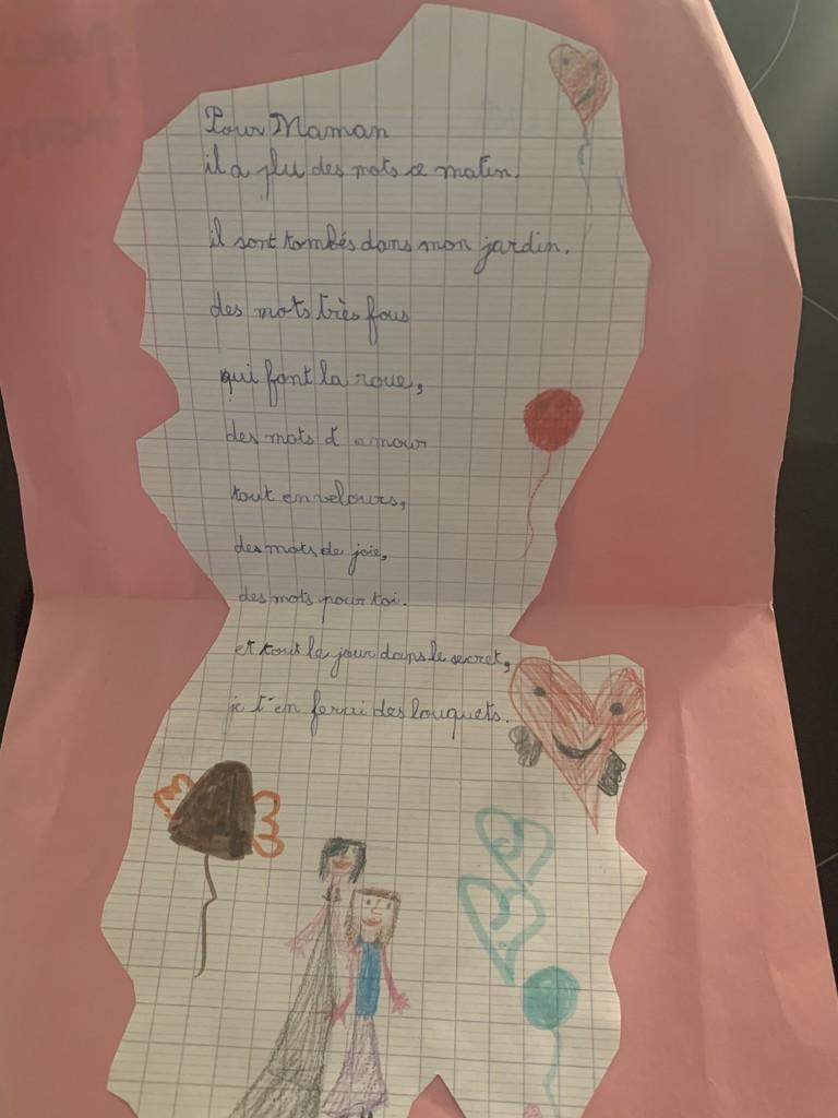 A poem and 4 hearts.  by cocobella