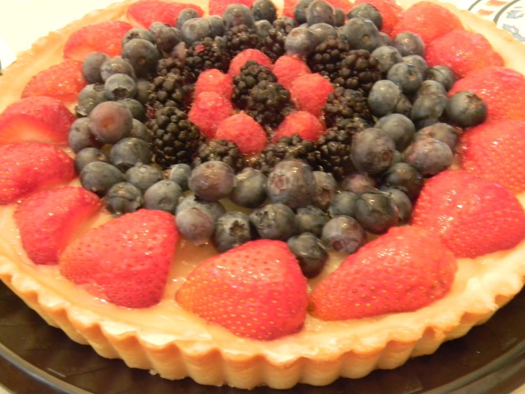 Fruit Tart  by sfeldphotos