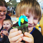 10th May 2021 - mothers day cupcakes