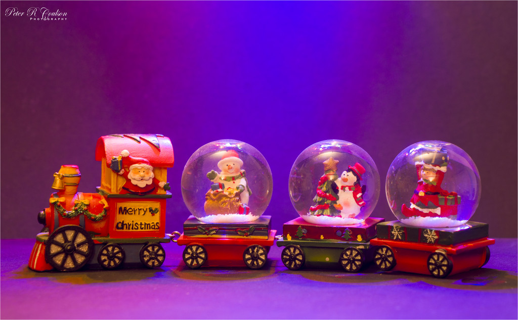 Christmas Train by pcoulson