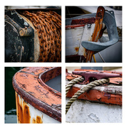10th May 2021 - Old fishing boat details