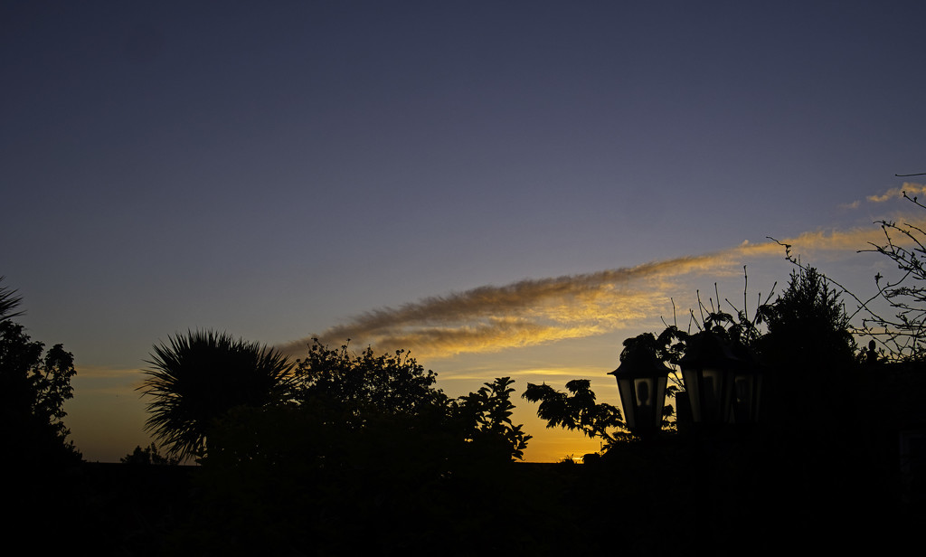 Morning sky from the Garden. by tonygig