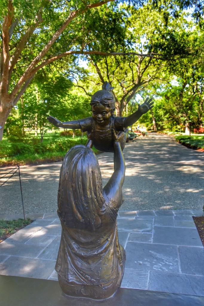 A sweet arboretum sculpture  by louannwarren
