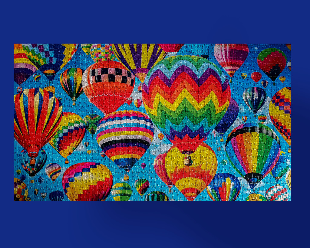 Bright ballons by gosia
