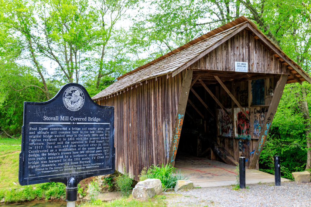 Stovall Mill Covered Bridge by hjbenson
