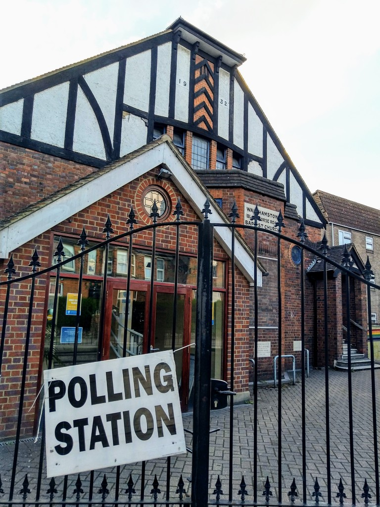 Polling station by boxplayer