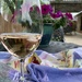 A glass of French Rosé on Mother's Day