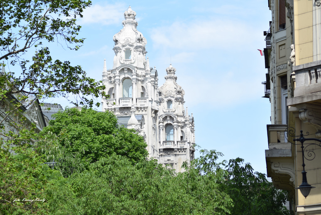 Towers of Klotild palaces by kork