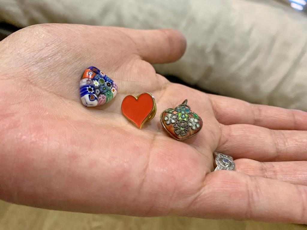 Three tiny hearts.  by cocobella