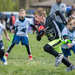 My grandson's first flag football game