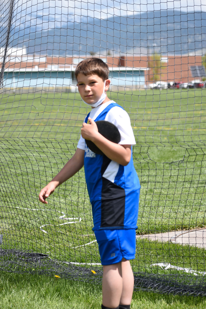 Handsome Discus Thrower by bjywamer