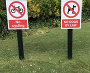 16th May 2021 - Signs in the park