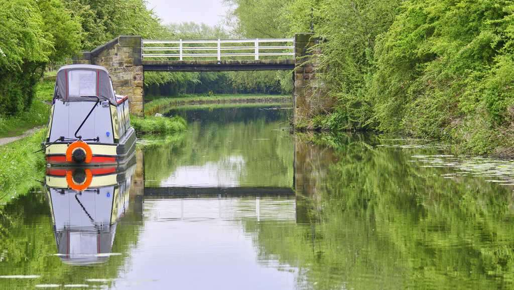 Reflections on the Canal. by tonygig