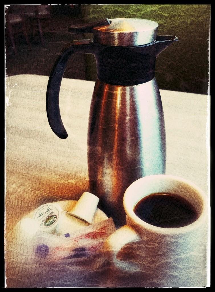 The Coffee Pot Is Back  by jo38
