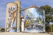 22nd May 2021 - Rochester silo art