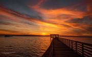 22nd May 2021 - Empty Pier Sunset!