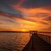 Empty Pier Sunset! by rickster549