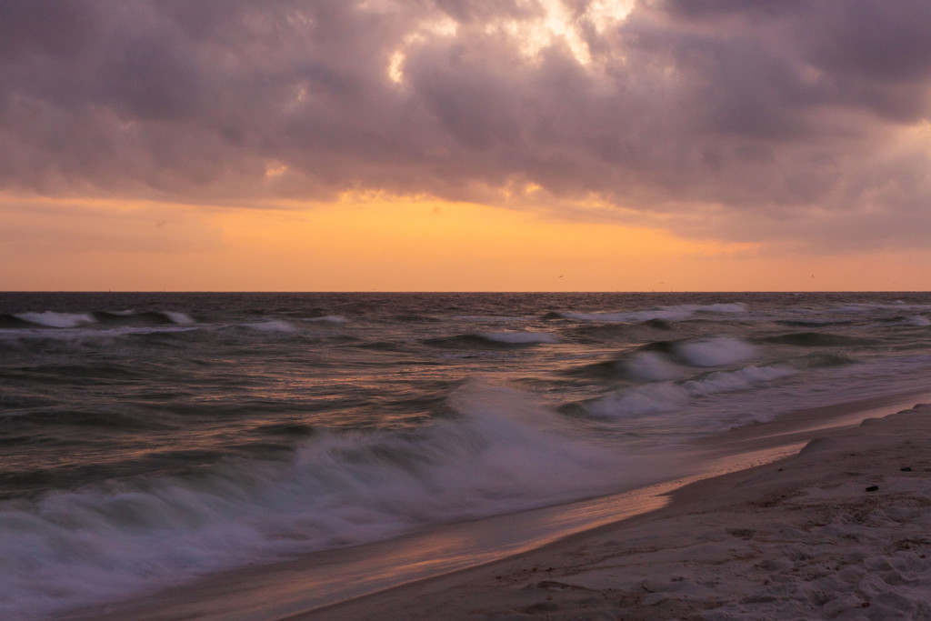 Storm Clouds at the Beach by photograndma