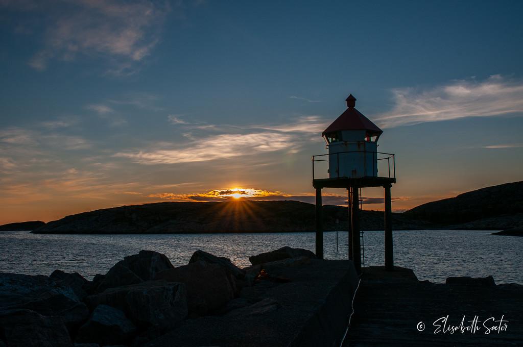 Sunset on Sætervika by elisasaeter