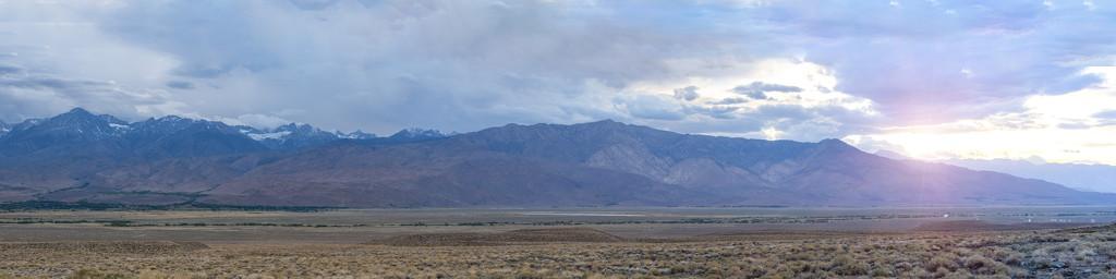 Eastern Sierras from Big Pine by mikegifford