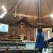 Zoom in church