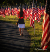 31st May 2021 - Spouse of Active Service Member Pays Respects