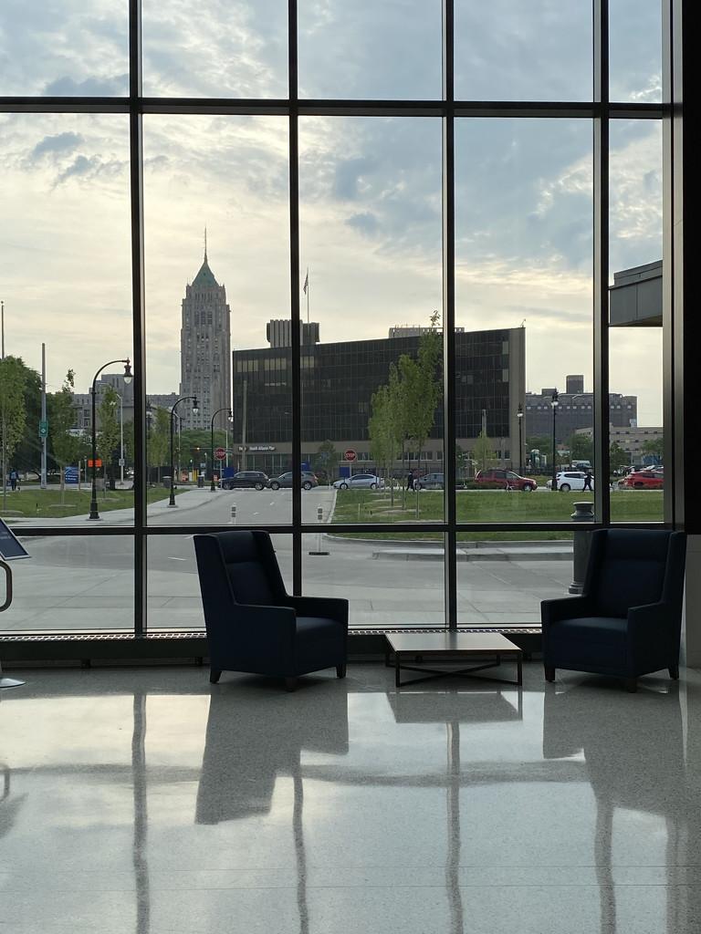 Hospital view #detroit by corktownmum