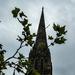 Coffee under the spire....