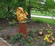 3rd Jun 2021 - Squirrel and acorn origami