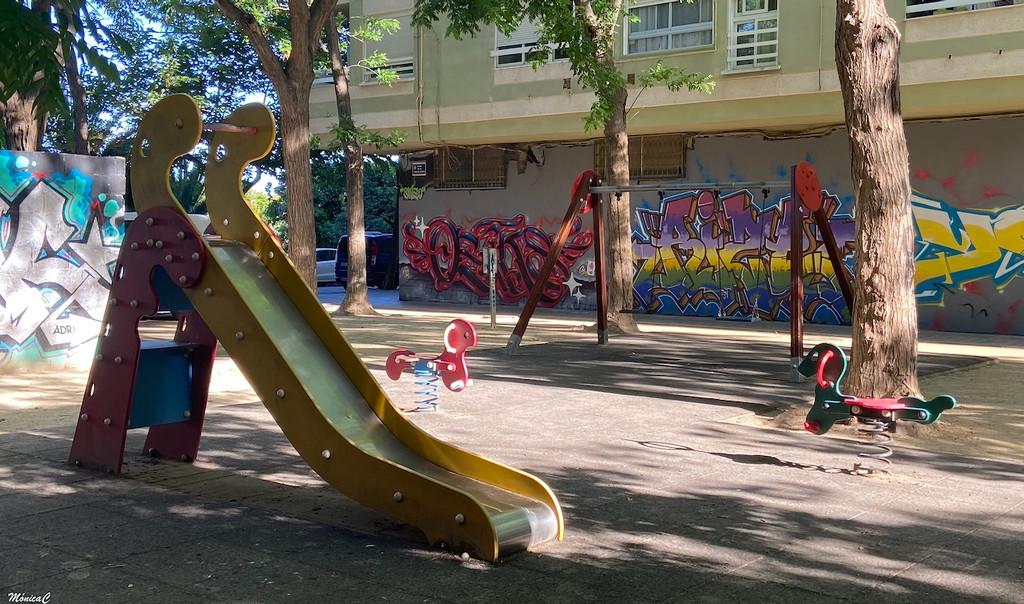Empty playground by monicac