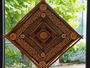 4th Jun 2021 - Mandala made of corks