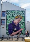 2nd Jun 2021 - Artist by Busk, Hackney Bridge