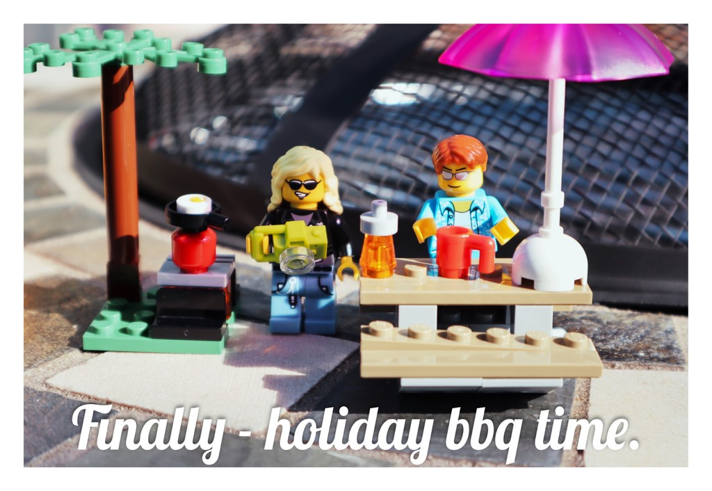 Day 153 - Postcards - Sun's out and so's the bbq. by wag864