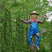 Children's Garden scarecrow