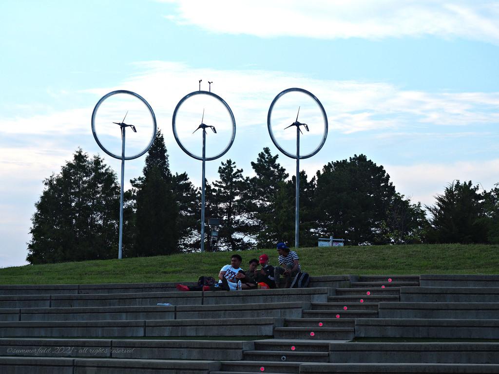 windmills by summerfield