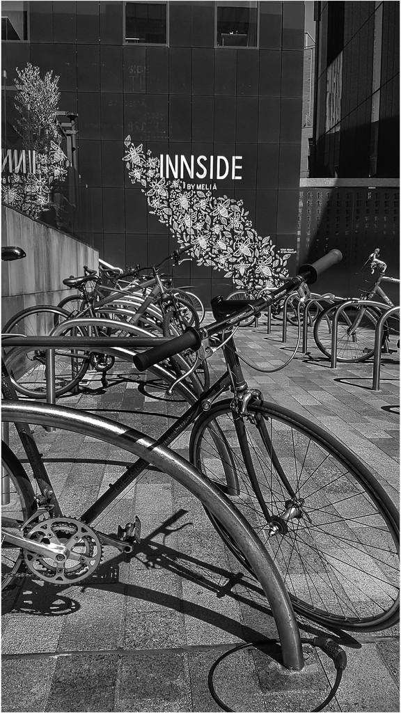 The bikes and backdrop caught my eye by lyndamcg