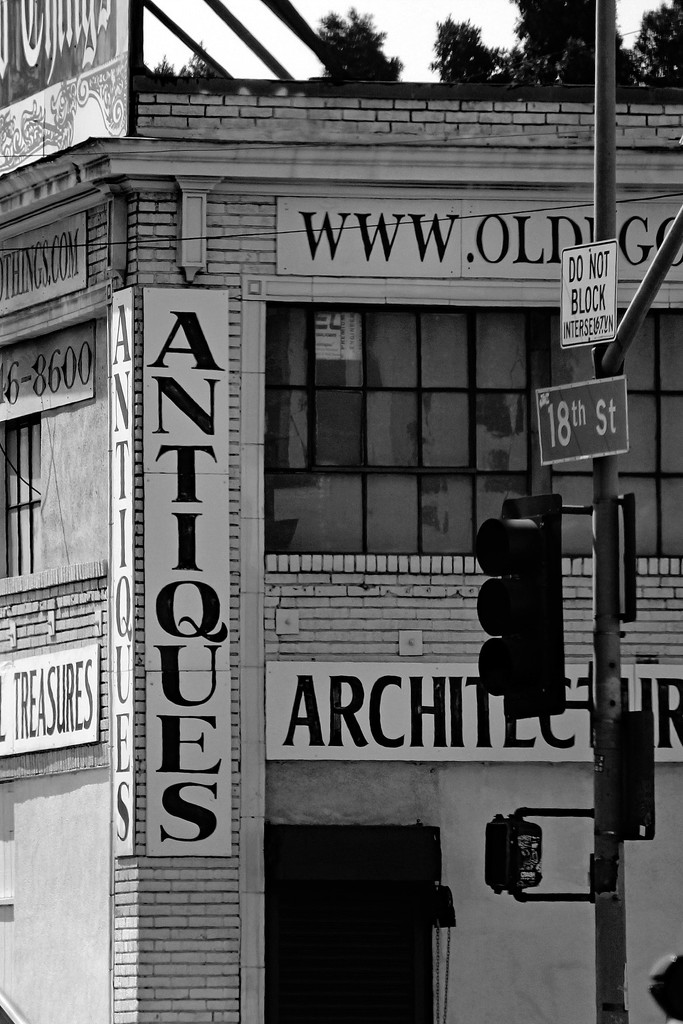 Antiques on 18th by jaybutterfield