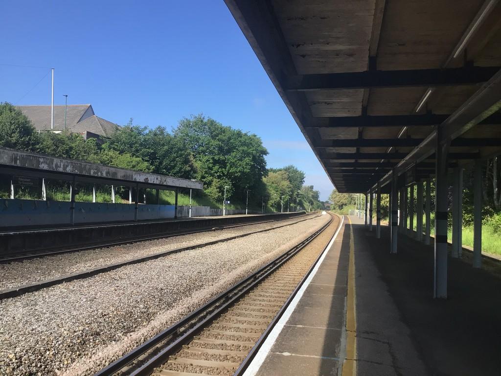 Pokesdown railway station by donnaj