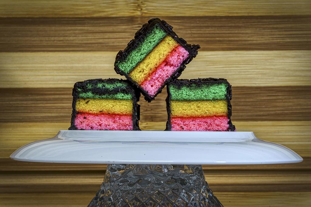 Striped Italian Cakes by k9photo