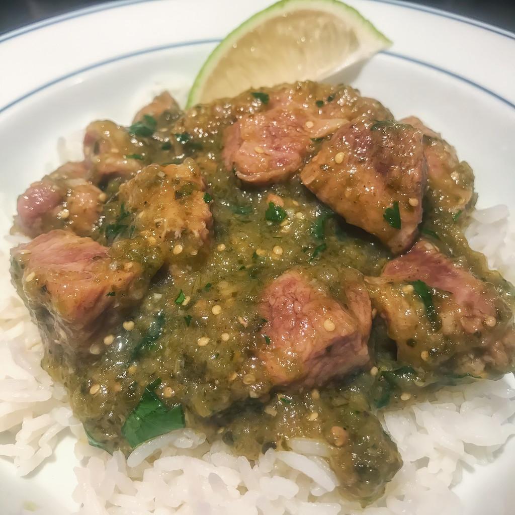 Chili Verde with Pork by pdxpatfitz