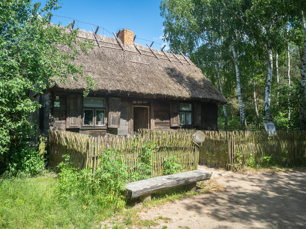 A peasant's house from 1920  by haskar
