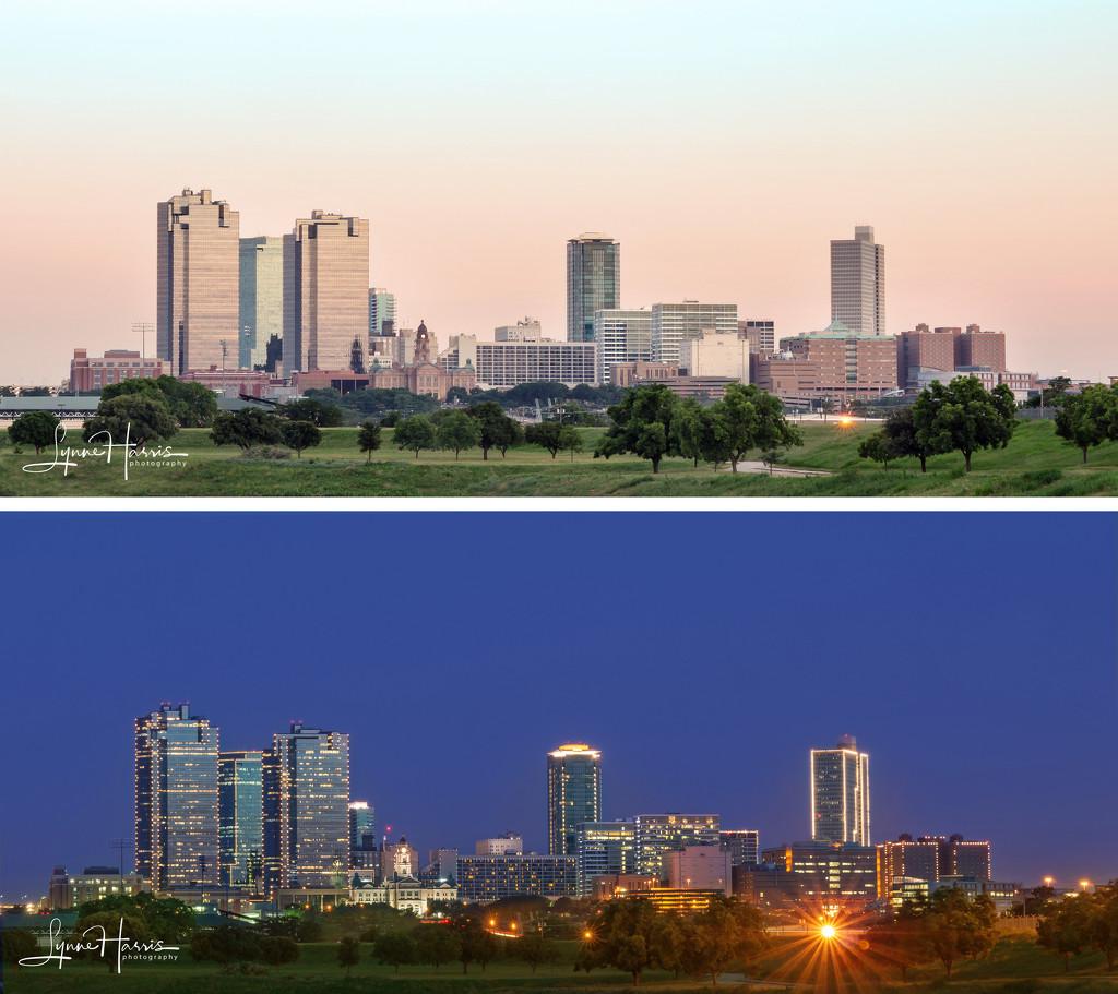 Fort Worth Skyline by lynne5477