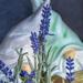 Hidden Behind the Lavender
