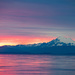 Dungeness Landing-Mt. Baker Sunrise  by theredcamera