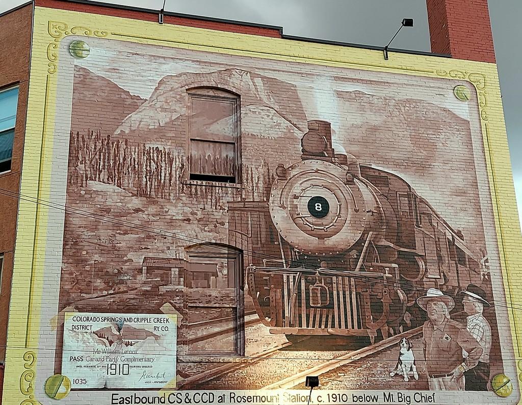 Locomotive  Mural  by harbie