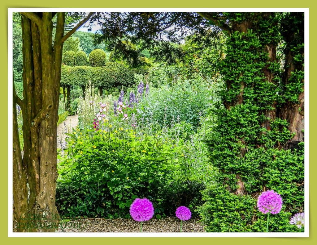 Just A Glimpse,Kelmarsh Hall Gardens by carolmw
