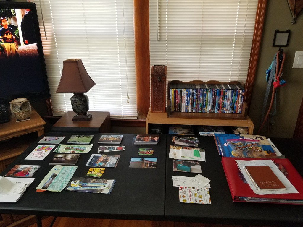 Ready to do some scrapbooking by scoobylou